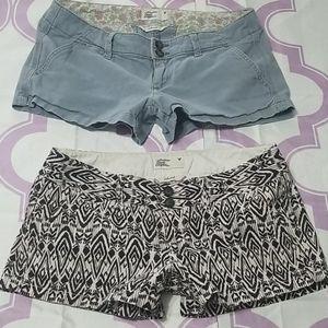 AMERICAN EAGLE Bundle size 2 flap pocket Shorts